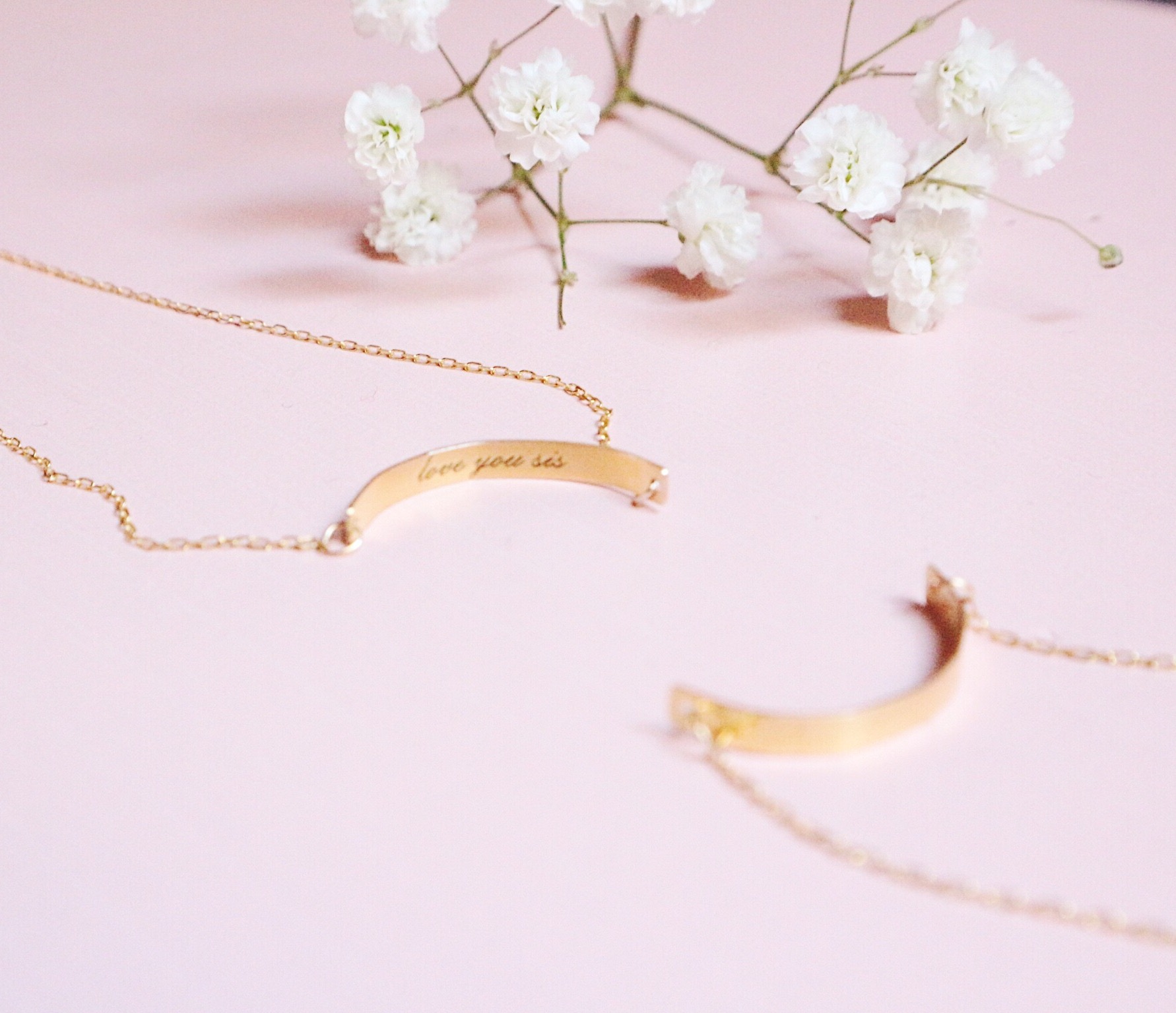 Set circle necklace
