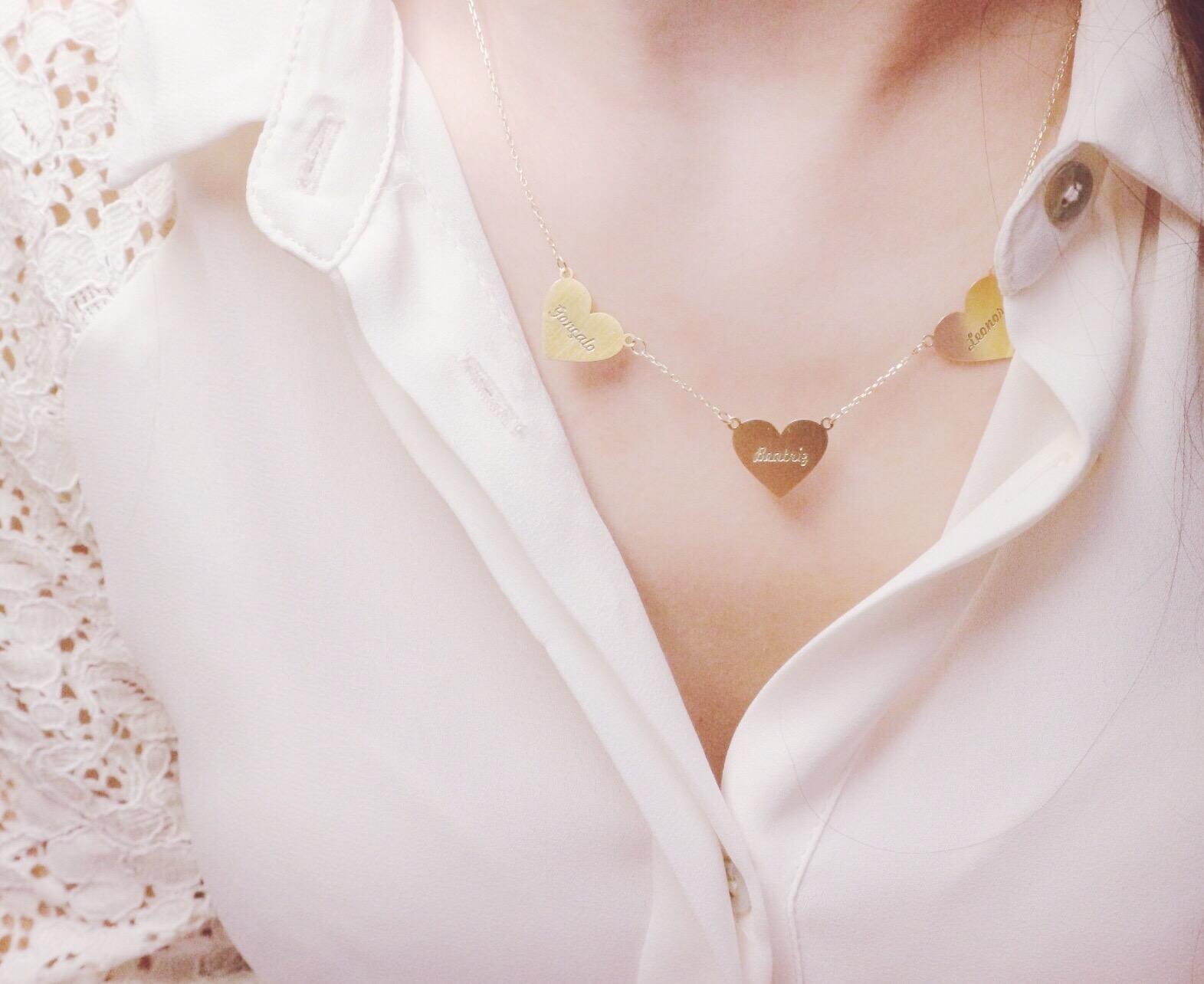 Colar hearts