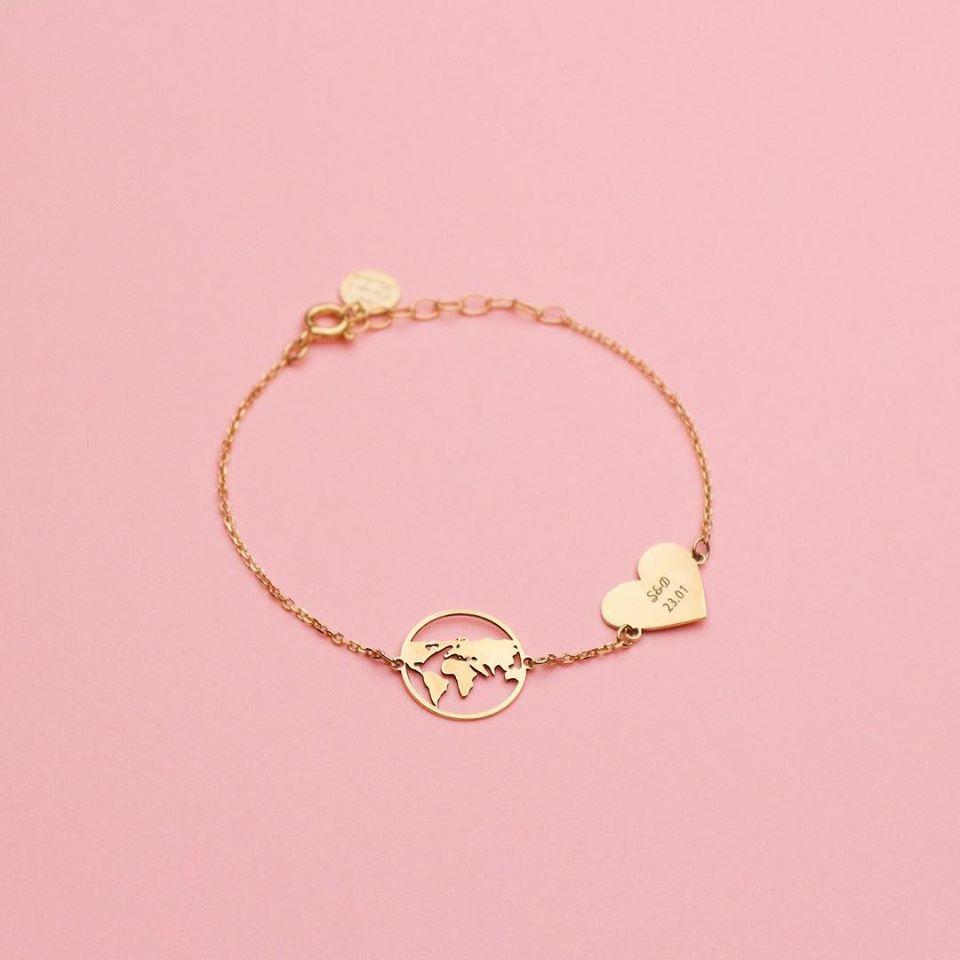 My world bracelet