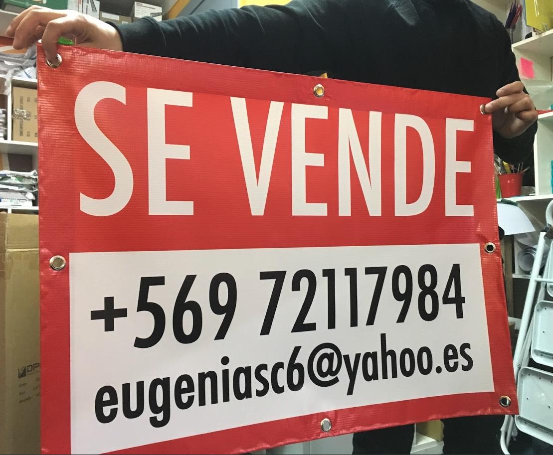 Letrero se Vende / Arrienda