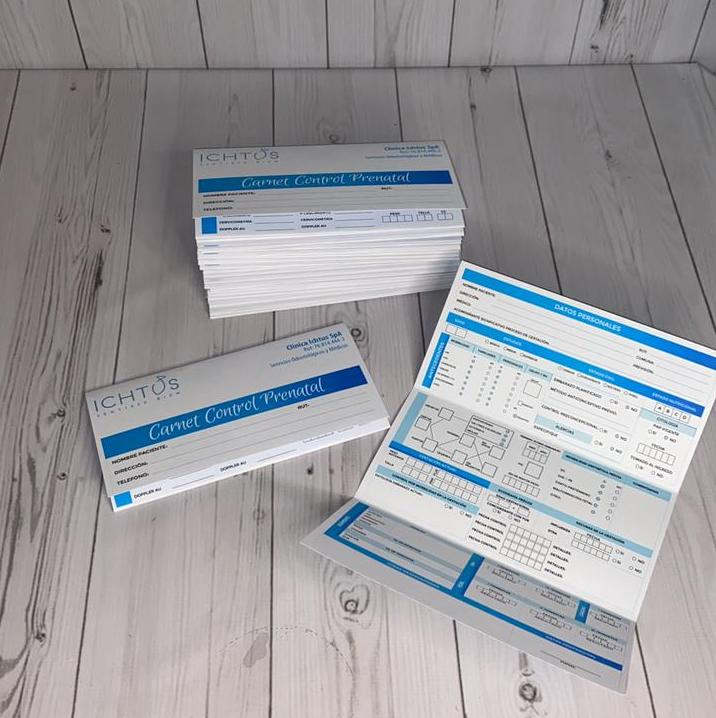 Pack Carnet Control Prenatal