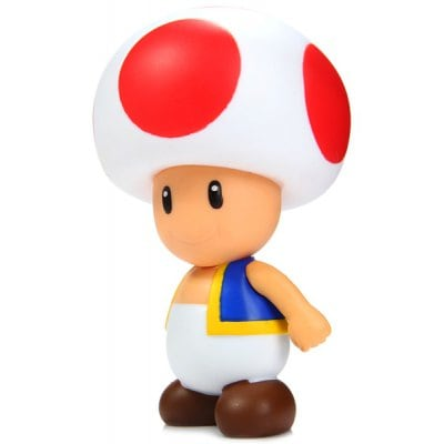 Mini Super Mario de 10cm Mini Mario Brothers Action Figure Mushroom Boy Doll Toy