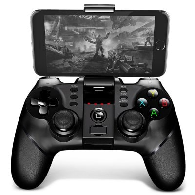 iPega 9076 2.4G Wireless Bluetooth Gamepad inalámbrico con soporte de juego