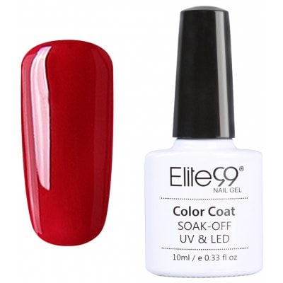 Remoje en remojo Serie Roja Gel Pulidor UV LED Elite99 Nail Art 10ml