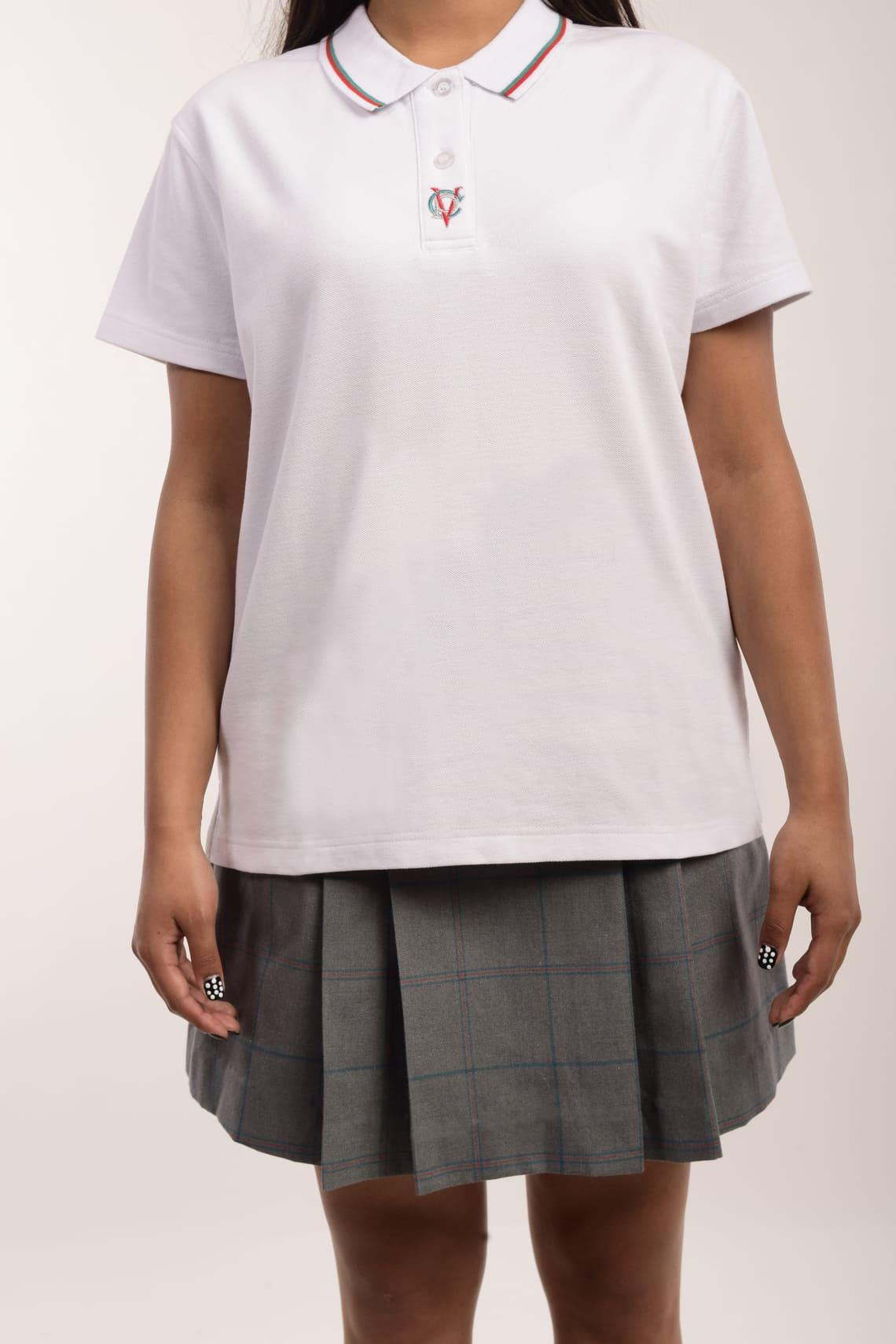 Polera Pique M/C Mujer (S - XL)