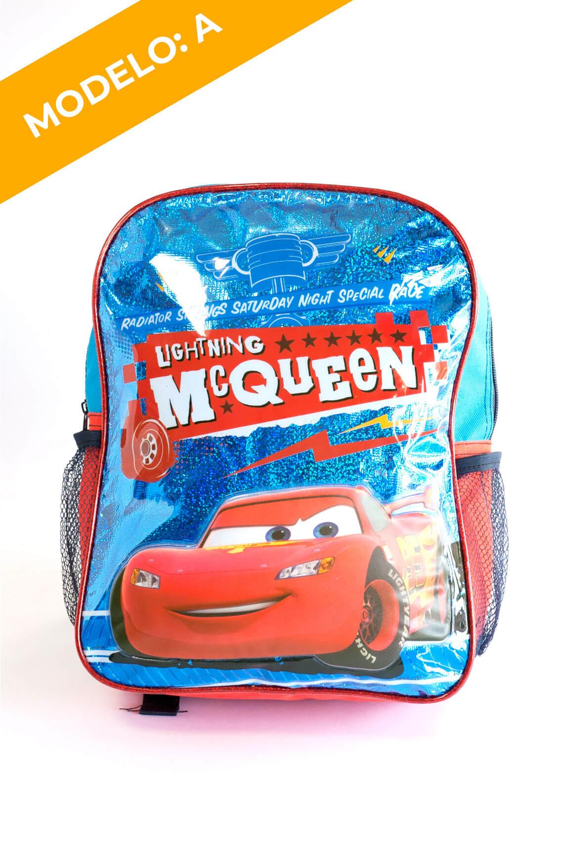 Mochila Cars 2 Diseños
