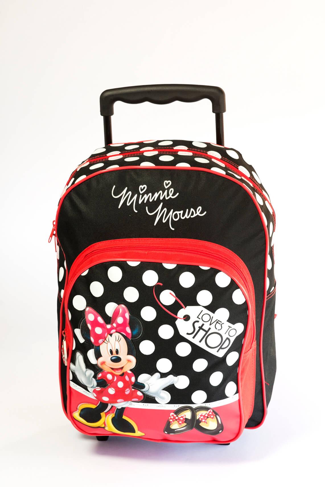 Mochila Minnie con Ruedas 2 Diseños