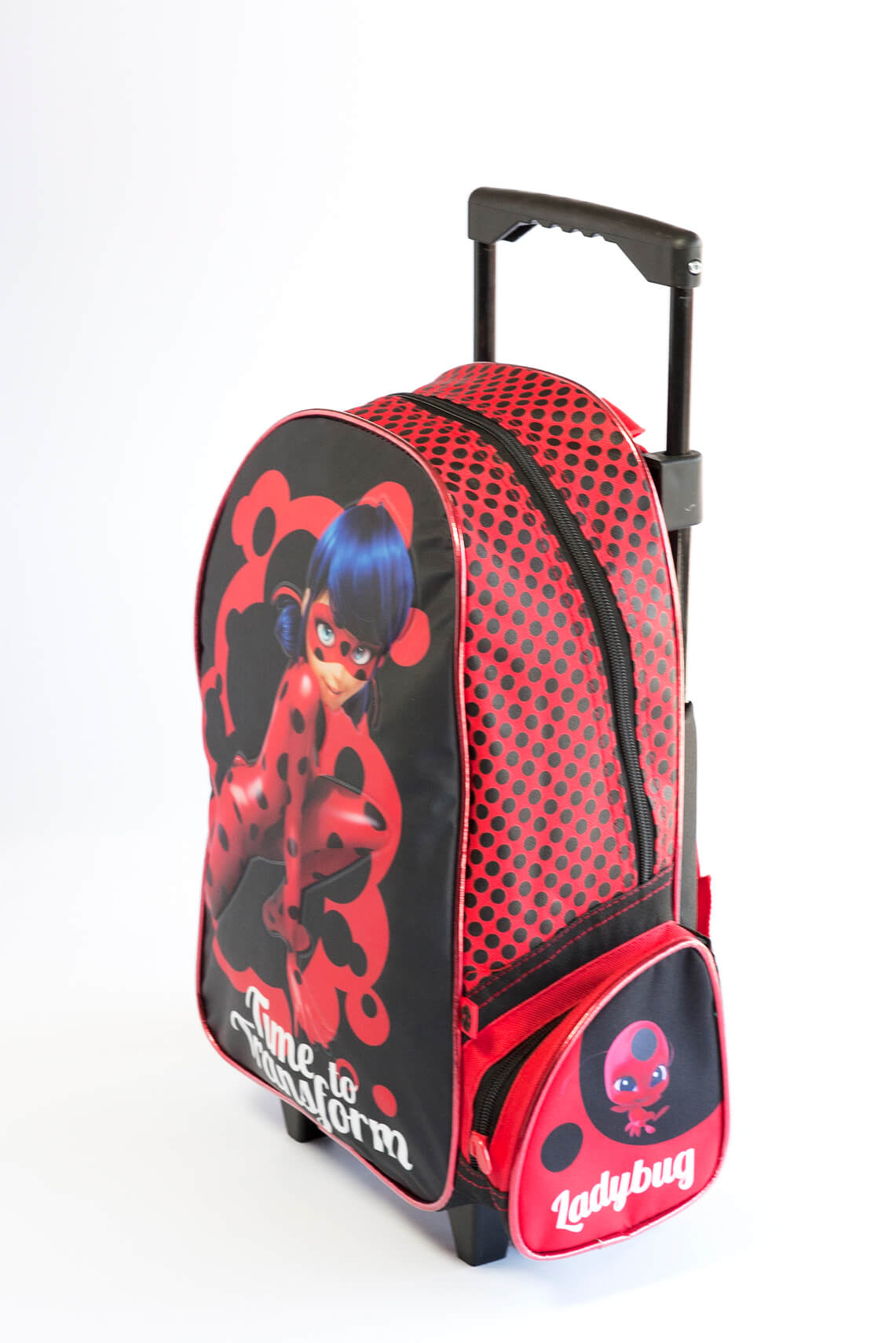 Mochila con Ruedas Ladybug Miraculous