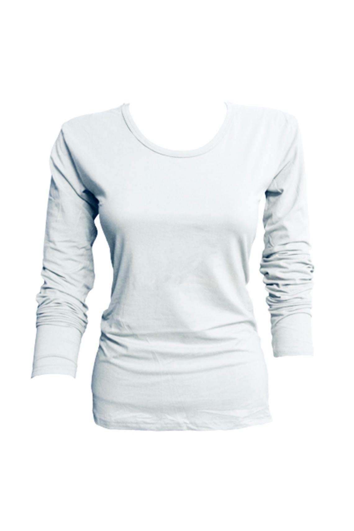 Camiseta bambú M/L blanca M - L