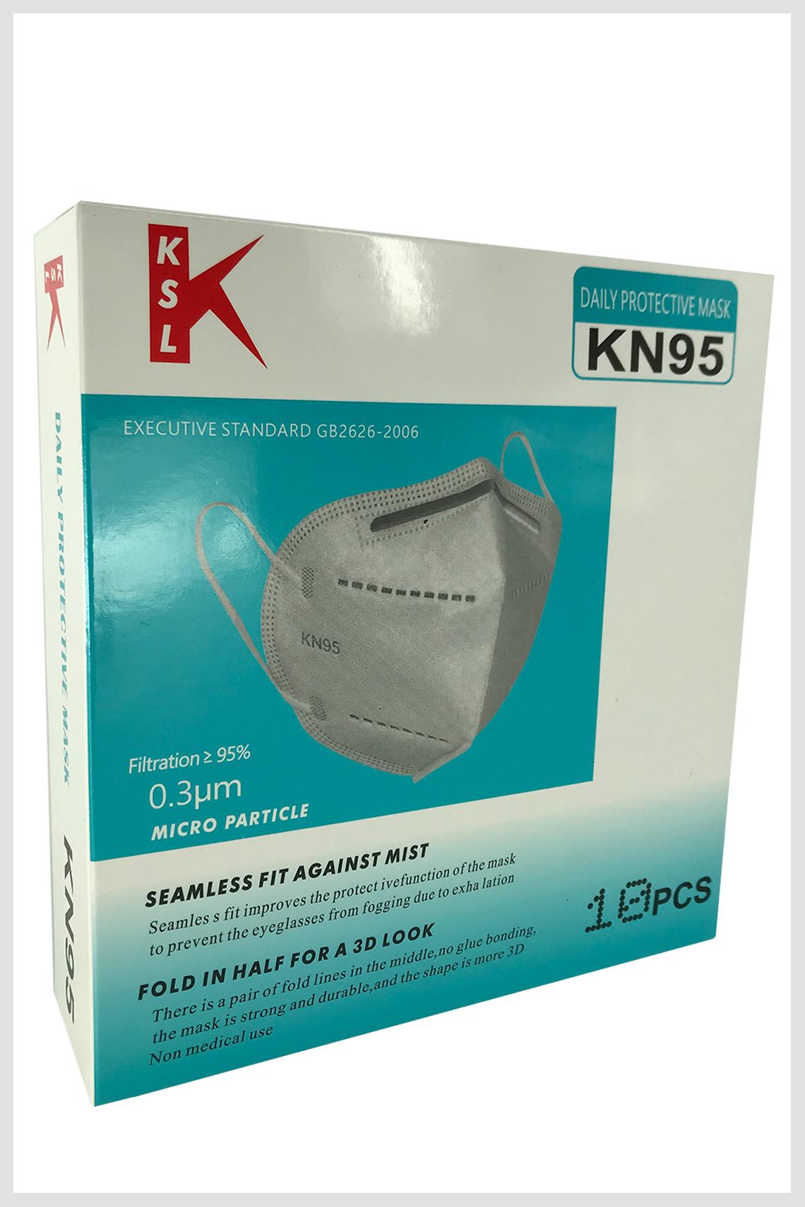 Mascarillas KN-95  (10 Uds.)