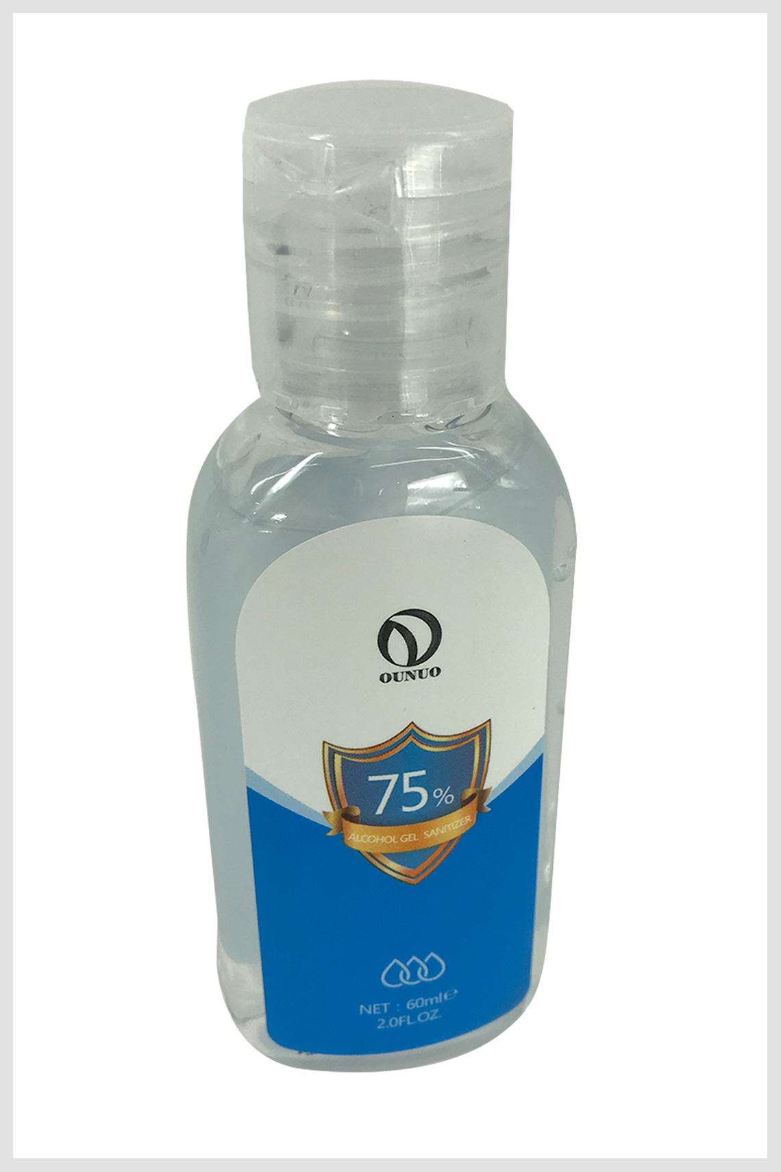 Alcohol Gel 60ml Certificado