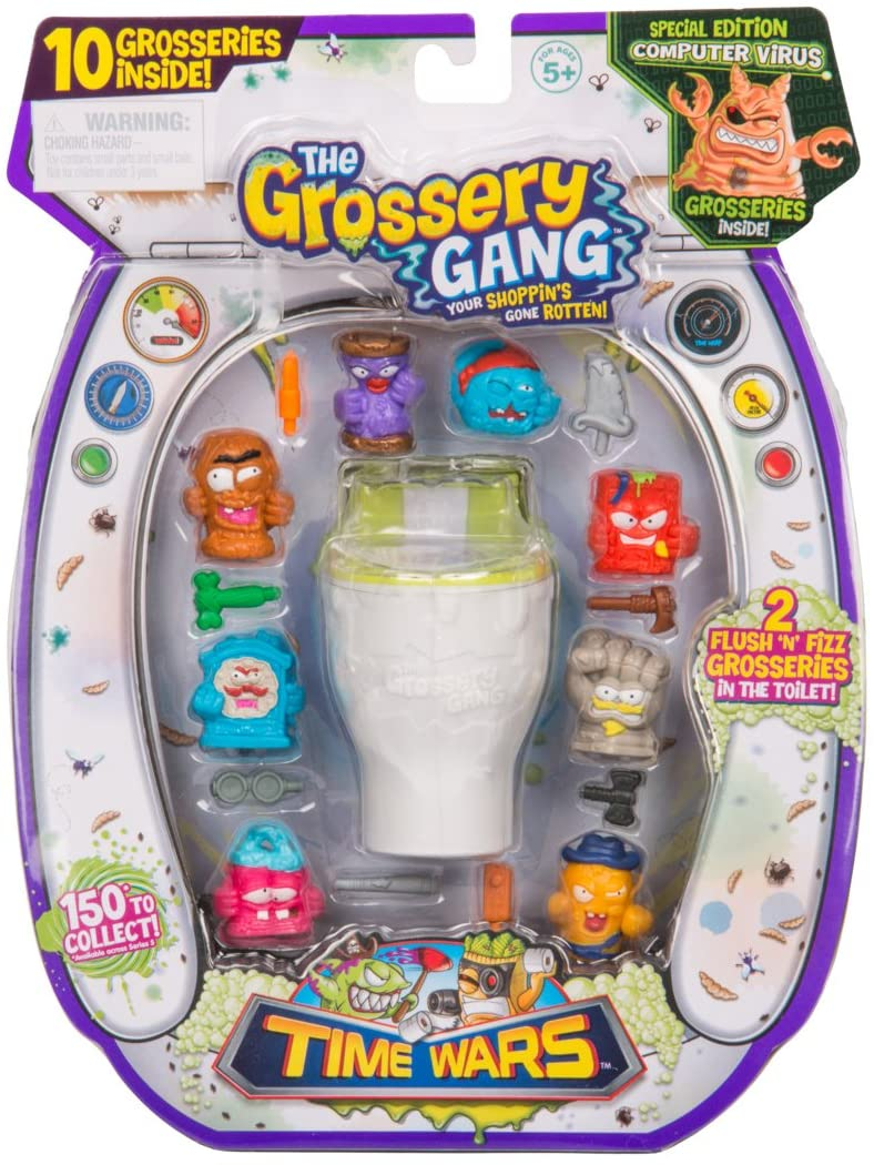 Grossery Gang Coleccionable Sorpresa 10- Pack