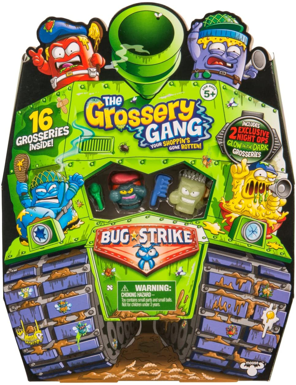 Grossery Gang Coleccionable Sorpresa 16- Pack