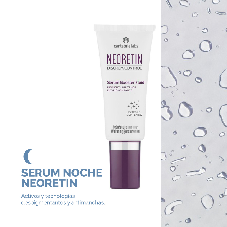 Serum Despigmentante uso diario noche
