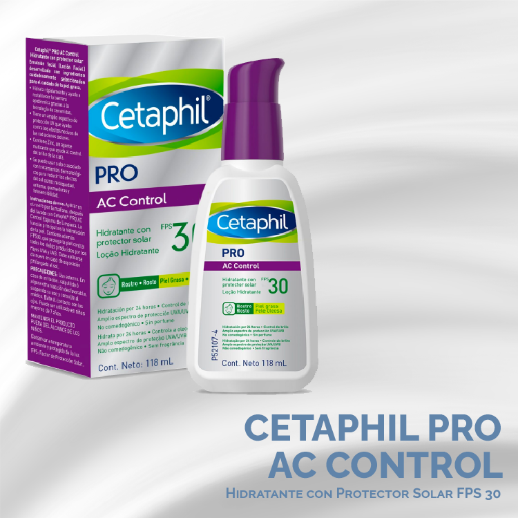 Crema Hidratante SPF 30 Cetaphil