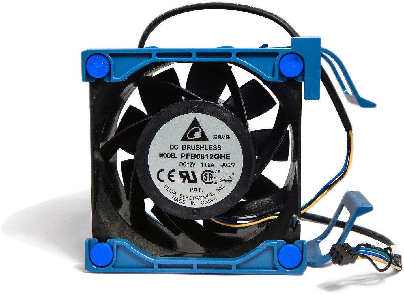 Ventilador HP ML110 G7  80 x 38 mm Sys Fan 644758-001 631569-001 PFB0812GHE
