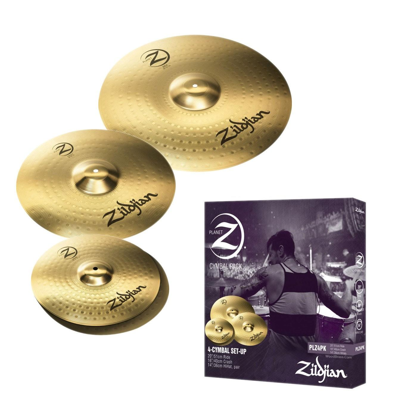 Pack de Platillos Zildjian Planet Z PLZ4PK