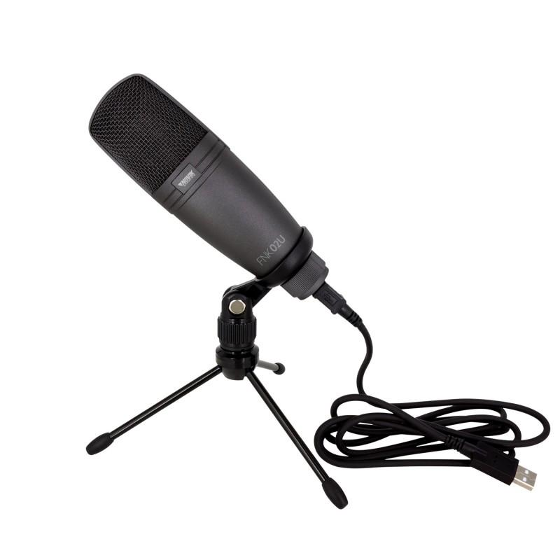 Microfono de Condensador USB Novik FNK-02U