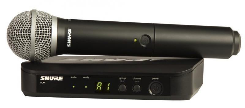 Microfono de Mano Shure BLX24/PG58