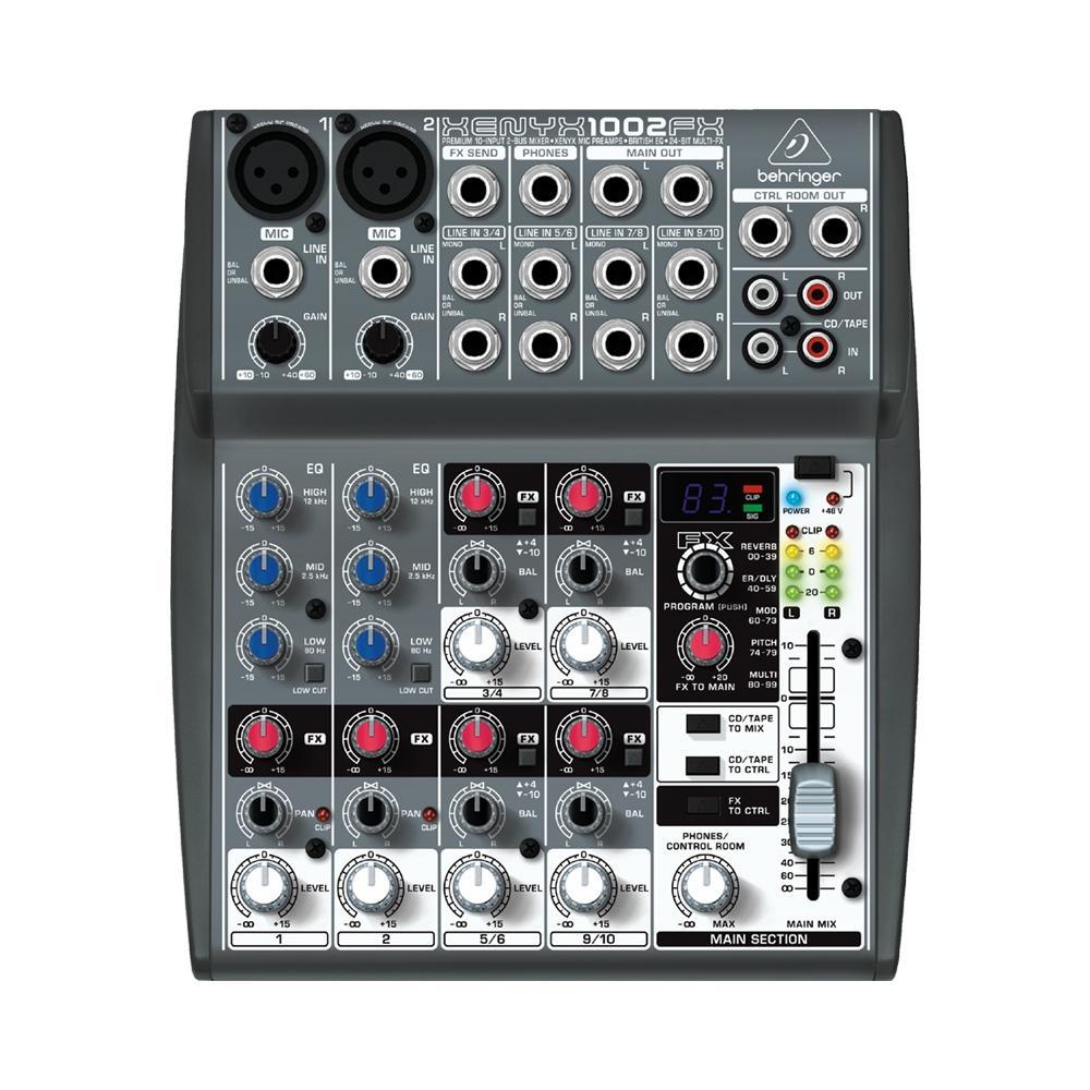 Mixer Analogo Behringer Xenyx X1002FX