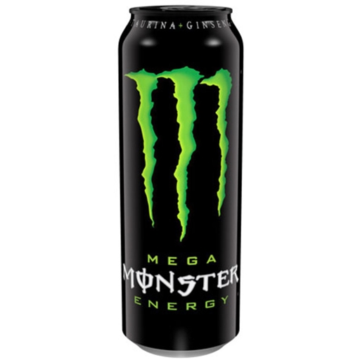 BEBIDA ENERGÉTICA MONSTER MEGA ENERGY GREEN 553ML