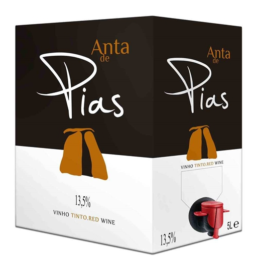 VINHO TINTO ANTA DE PIAS BAG IN BOX 5L