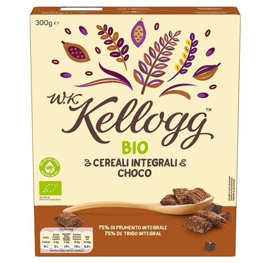 CEREAIS CHOCOLATE KELLOGG BIO 300G