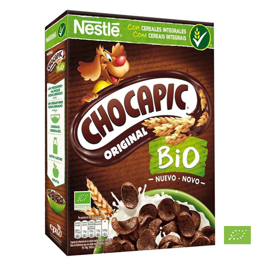 CEREAIS CHOCAPIC BIOLÓGICO 330 GR