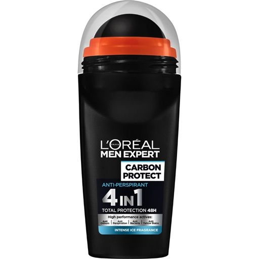 DESODORIZANTE ROLL-ON MEN EXPERT CARBON INTENSE ICE 50ML