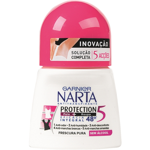 DESODORIZANTE ROLL-ON PROTEC 5 NARTA 50 ML