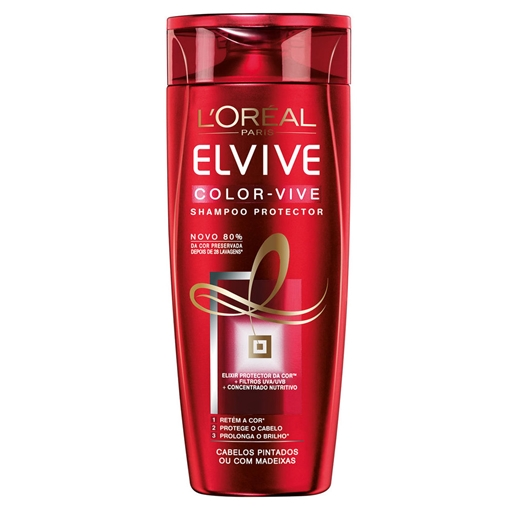 CHAMPÔ ELVIVE COLOR VIVE 400ML