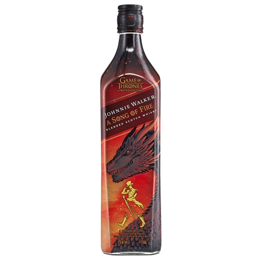 WHISKY JOHNNIE WALKER SONG OF FIRE 70 CL