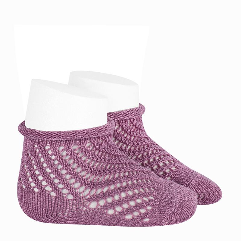 Calcetines cortos de Perle calados - Red