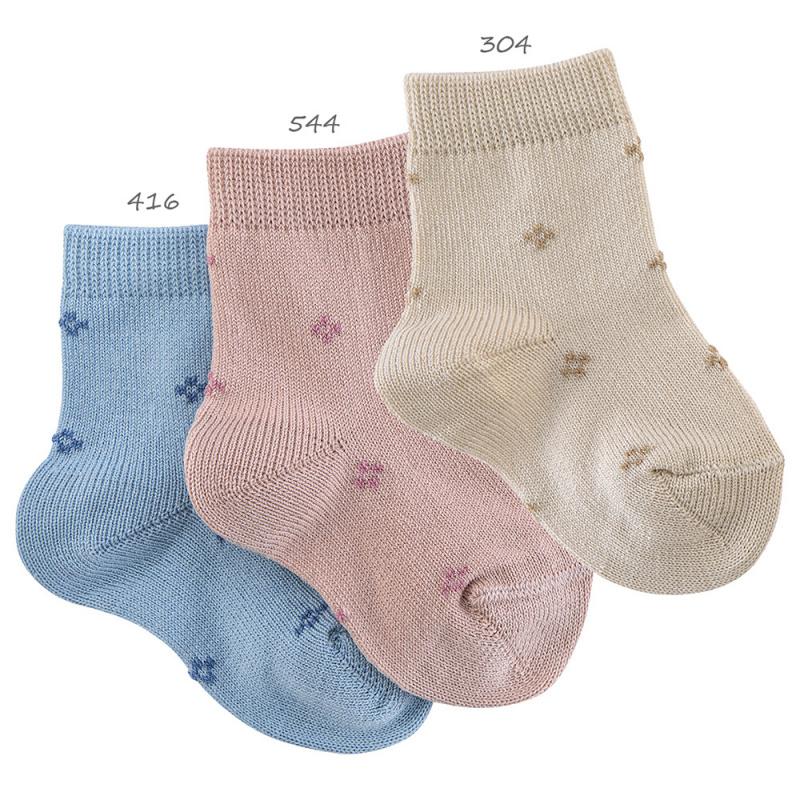 Calcetines Cortos con Cuadritos