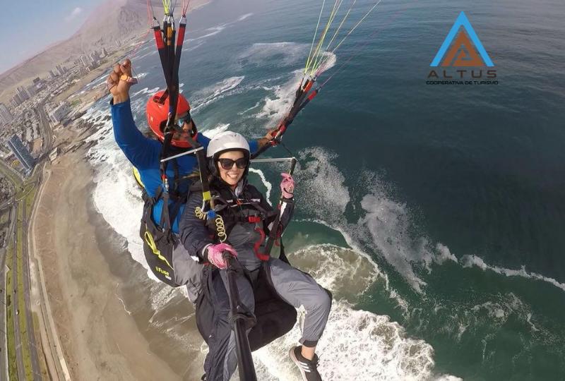 Top 6 lugares más hermosos para volar en parapente (en América Latina)