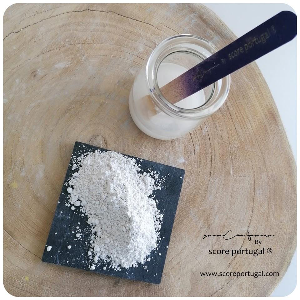 Pó de Gesso Semi-hidratado branco (1kg)