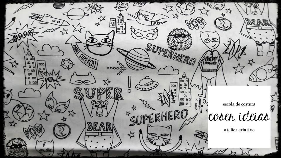 Super-heróis para pintar