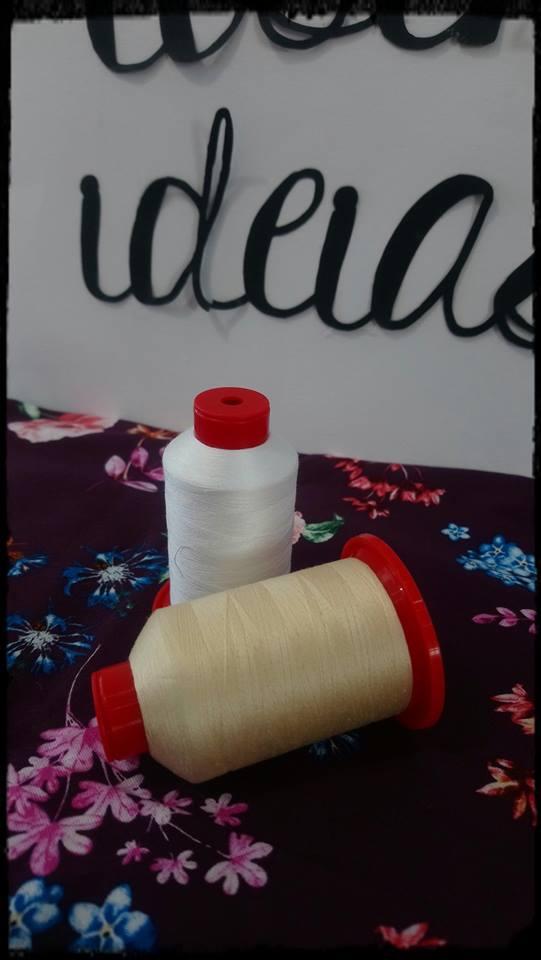 Linha de algodão