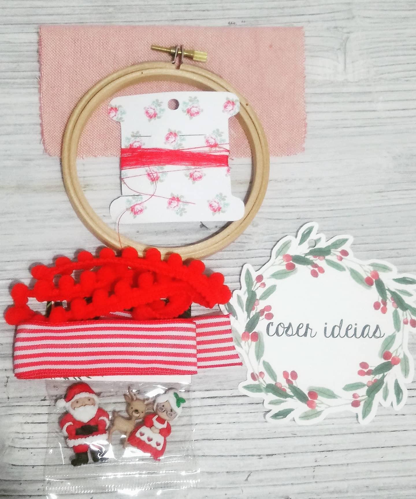 Kit DIY Bastidor Natal