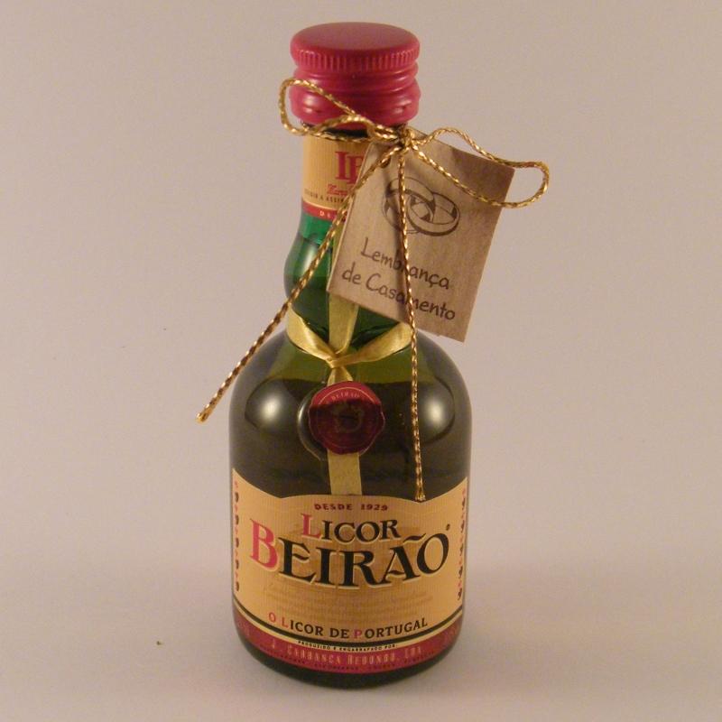 C6108-Garrafa Licor Beirão com laço
