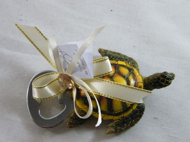 C15023 - Saca-rolhas tartaruga decorado