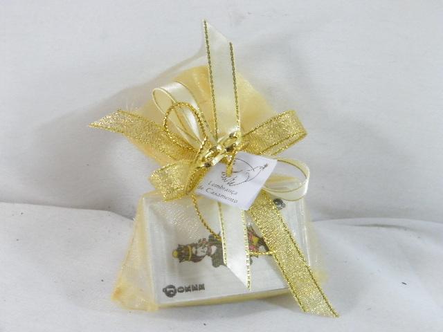 C15026 - Mini baralho de cartas em saco organza