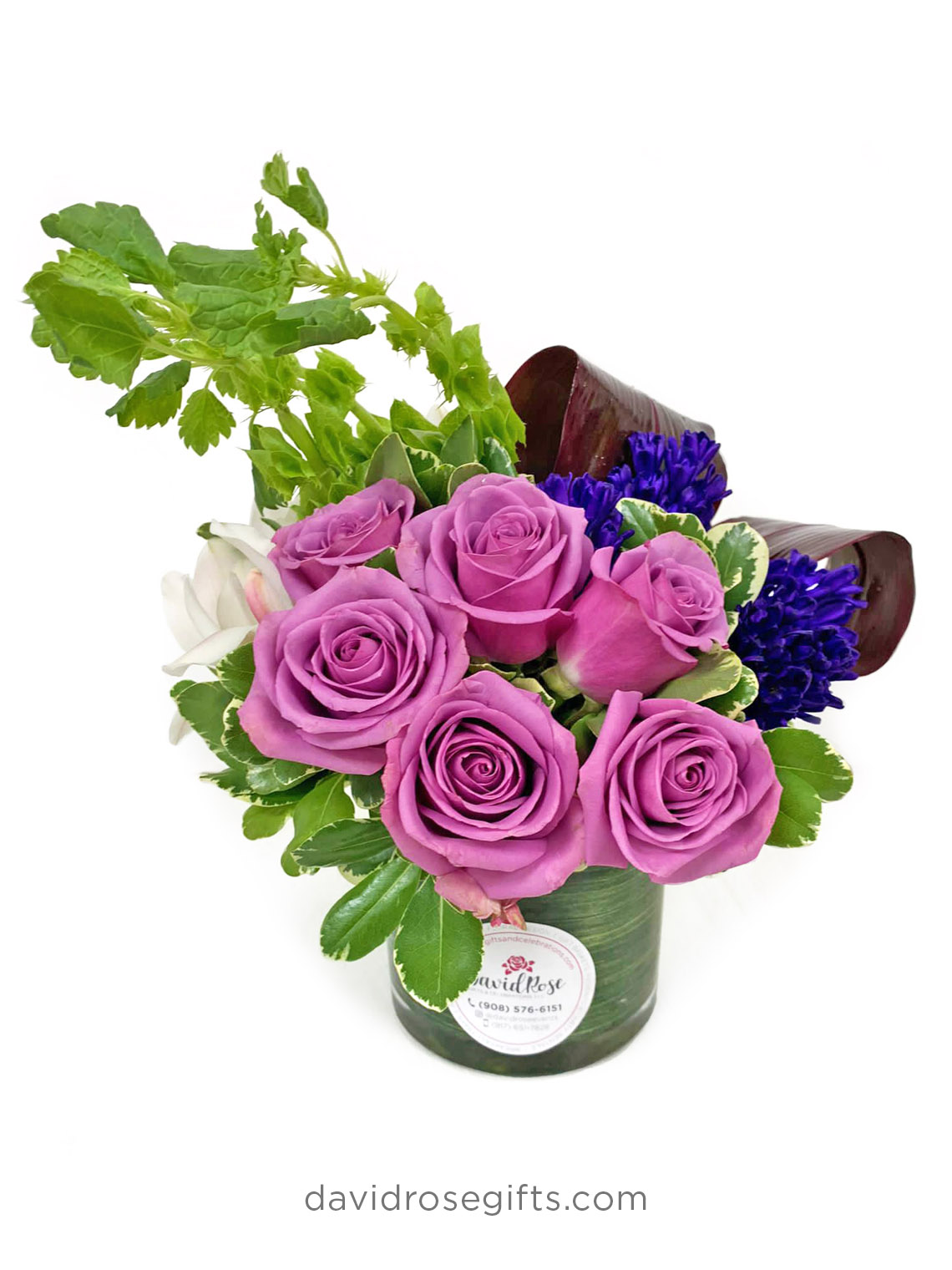 Purple Thoughts Bouquet