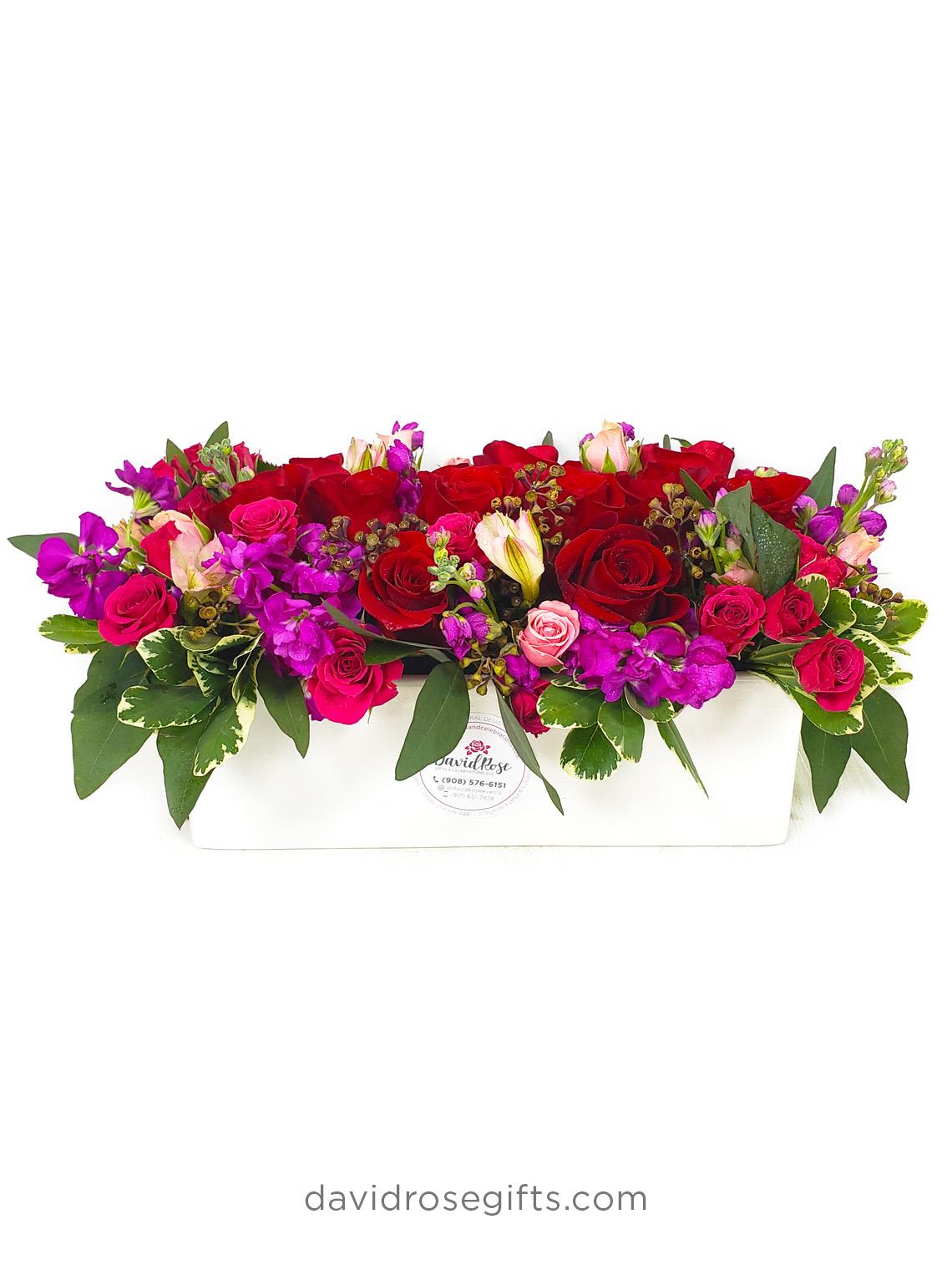 Elegant Roses Centerpiece