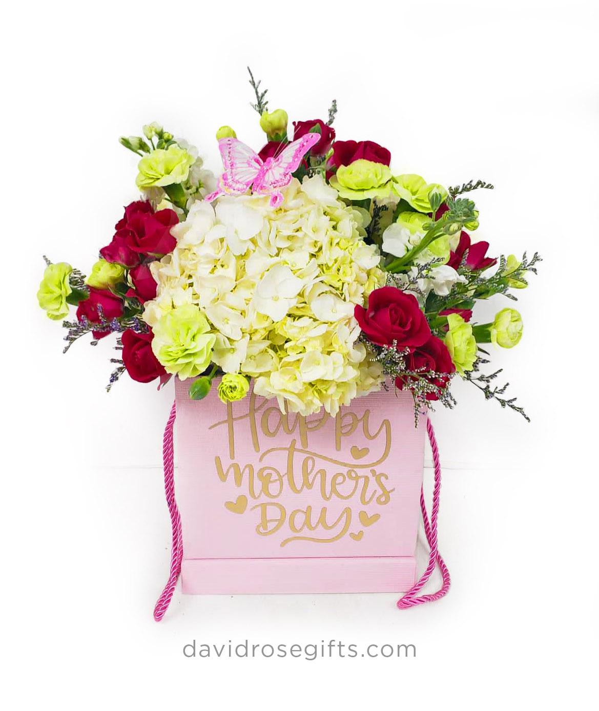 Caja Floral Día de la Madre