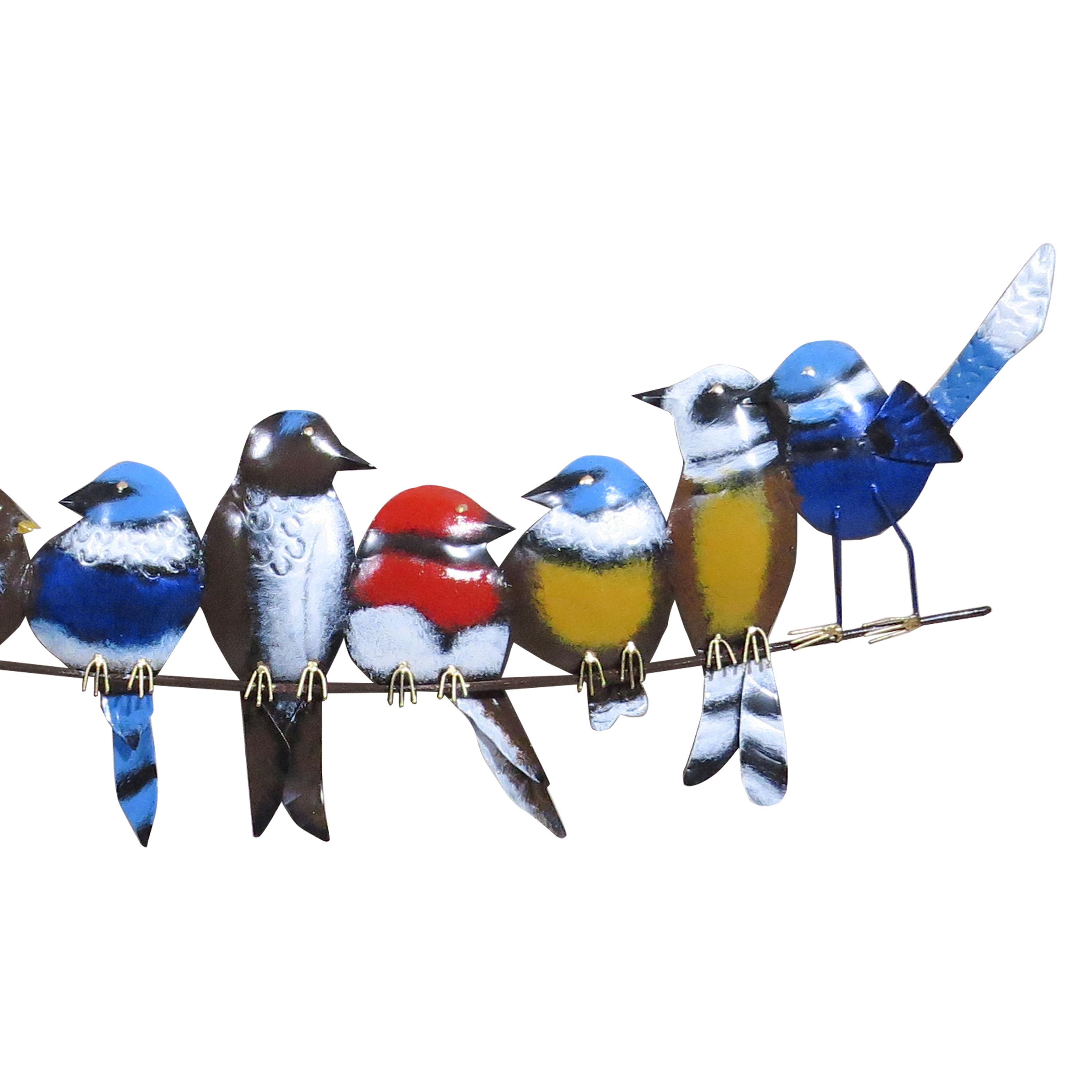 Pájaro latón en rama