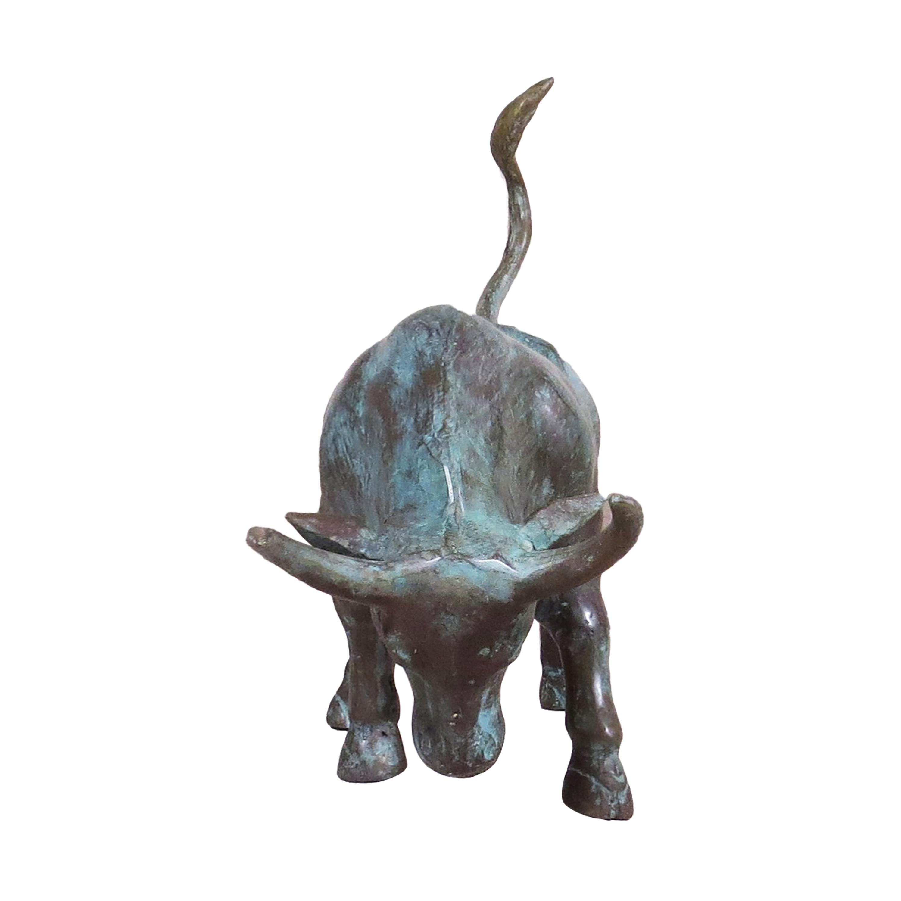 Toro de bronce