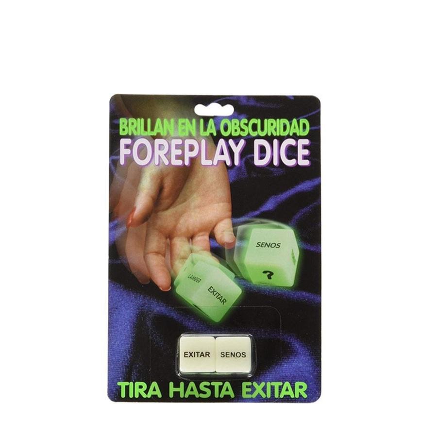 Dados Eróticos Fluorescentes Foreplay Dice