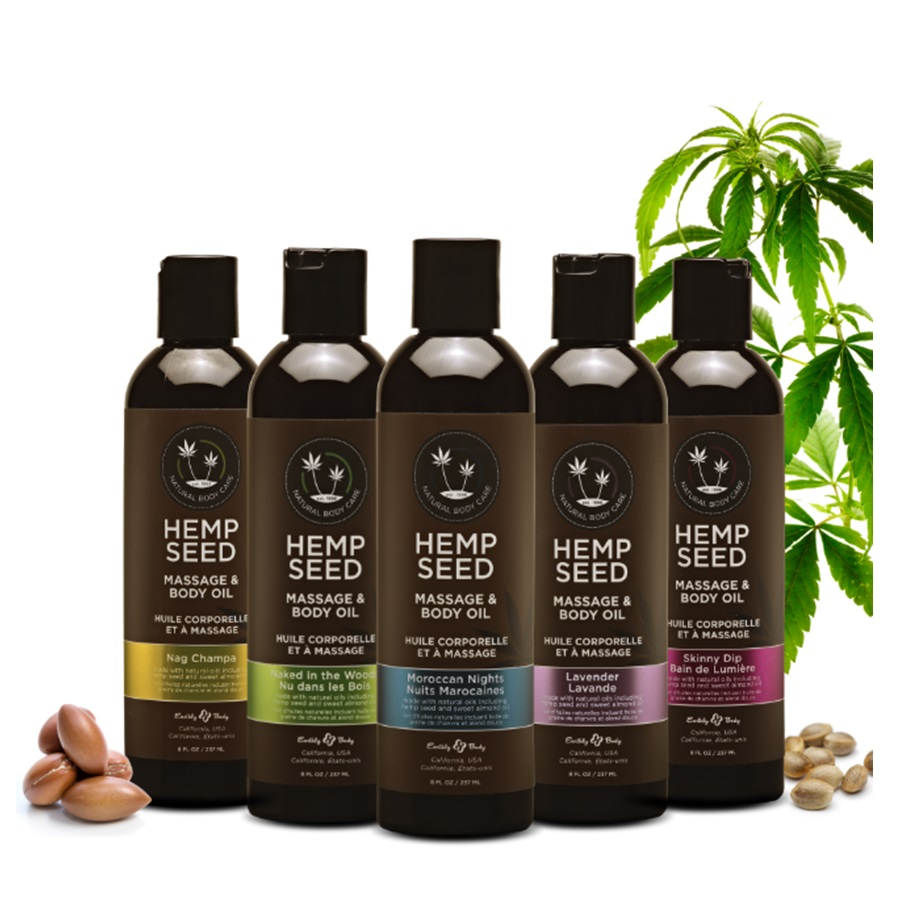 Aceite para Masajes Hemp Seed 60 ml.