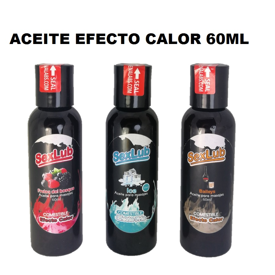 Aceites para Masaje Variedades 60 ml.